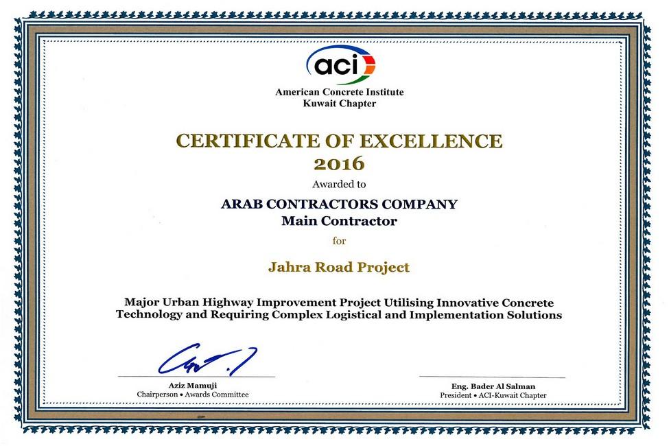 Al-Jahra Road Project | The Arab Contractors