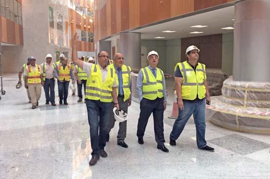 Arab Contractors Company Accomplished Sheikh Jaber Al Ahmad Al Jaber