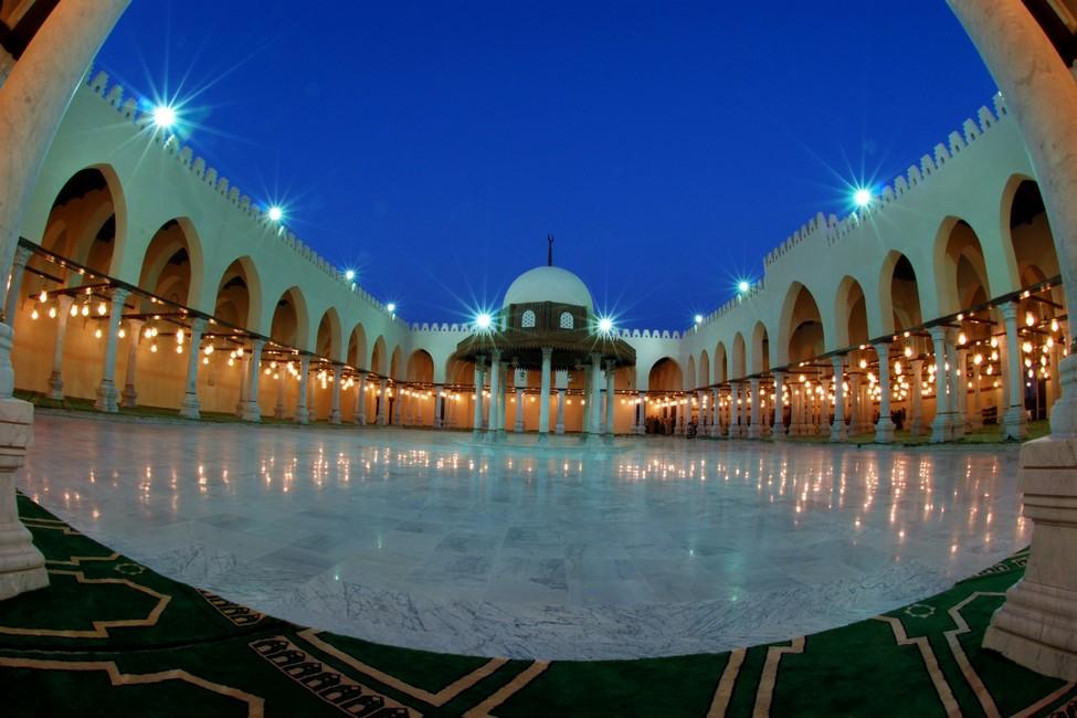 ترميم مسجد عمرو بن العاص