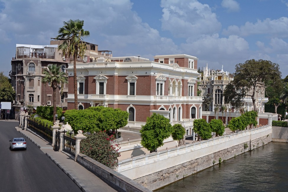 Aisha Fahmy Palace and the Complex of Arts in Zamalek