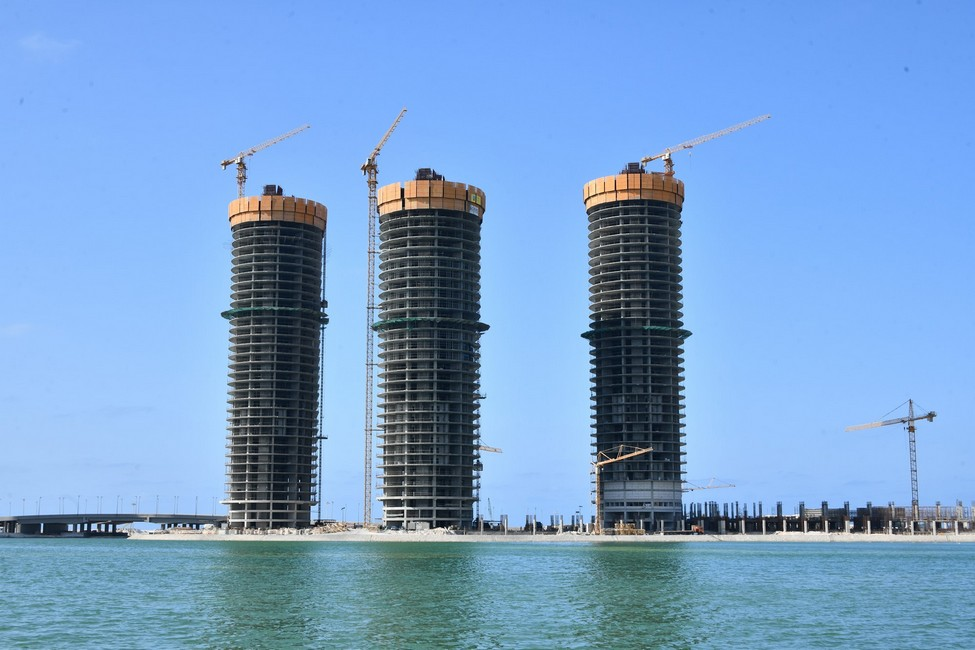 Towers of New El Alamein City