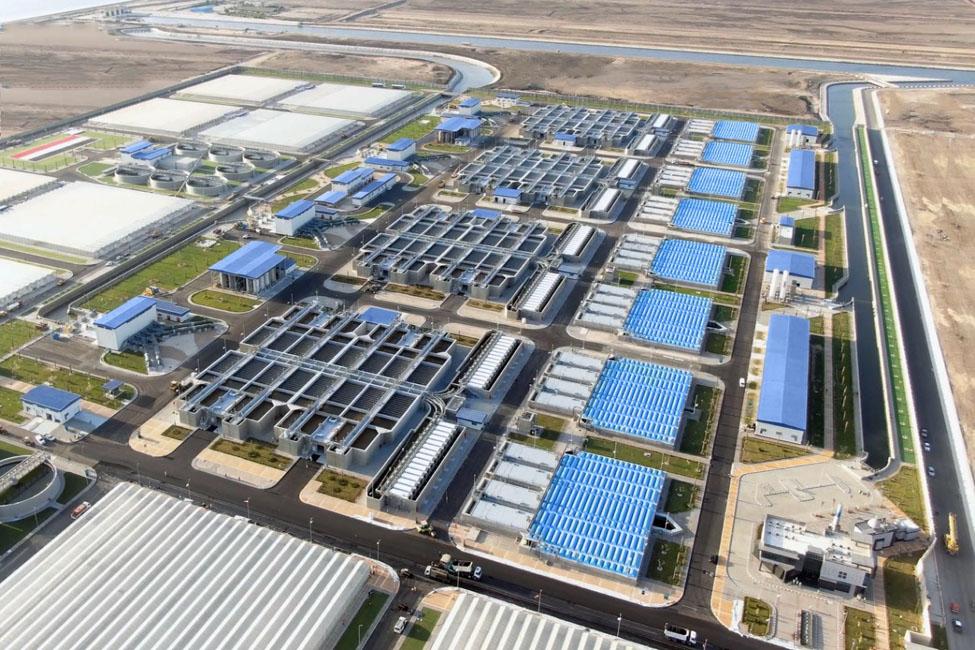 Bahr Al Baqr Wastewater Treatment Plant