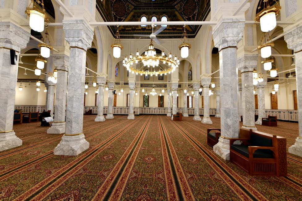 ترميم مسجد فاطمة النبوية
