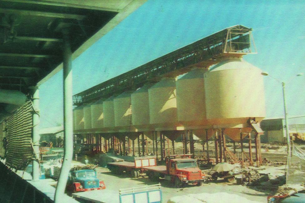 ميناء الغلال - ببور سعيد