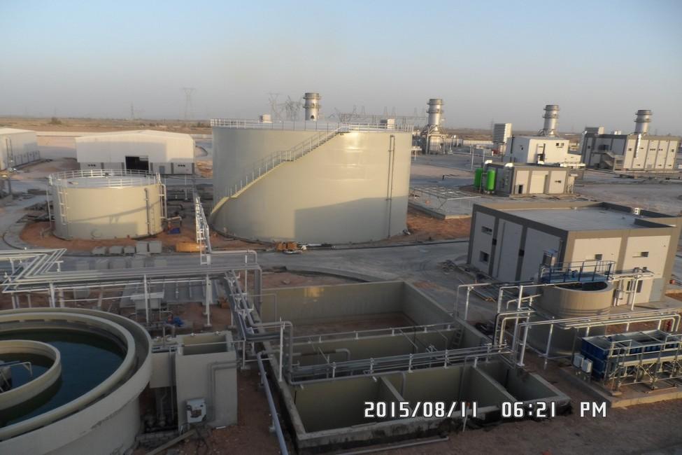 محطة كهرباء الديوانية - العراق