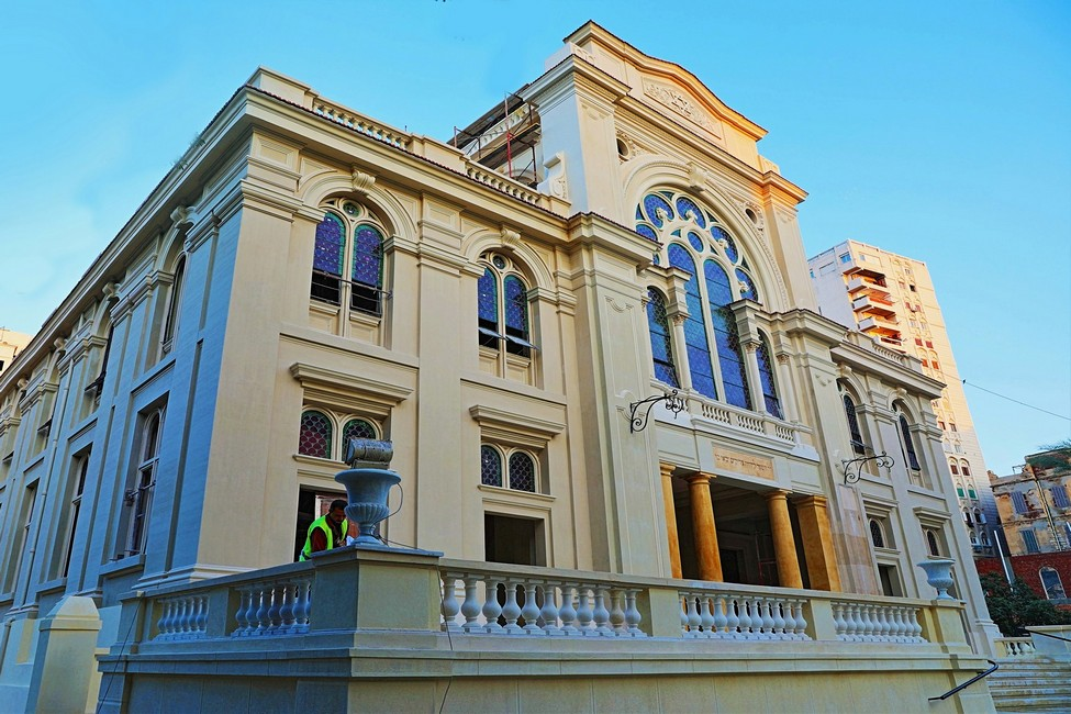 Restoration of Eliyahu Hanavi Synagogue in Alexandria