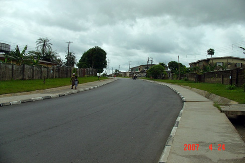 Calabar Roads - Cross River State