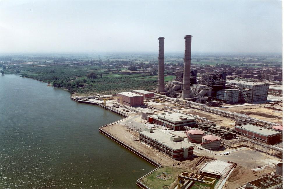 محطة كهرباء غرب القاهرة
