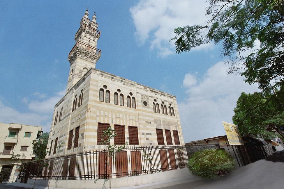 ترميم مسجد قيتباي