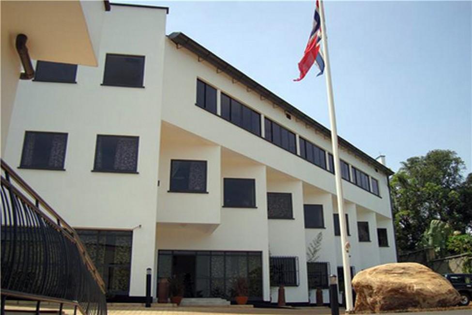 مبنى السفارة النرويجية فى كمبالا