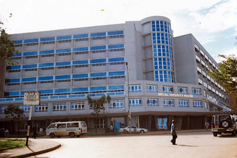 مبنى التأمينات الإجتماعية - كمبالا