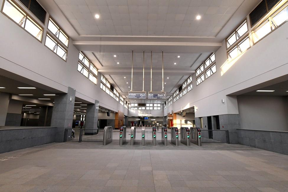 القطار المكهرب (السـلام - العاشــر مـن رمضان - العاصمة الإدارية