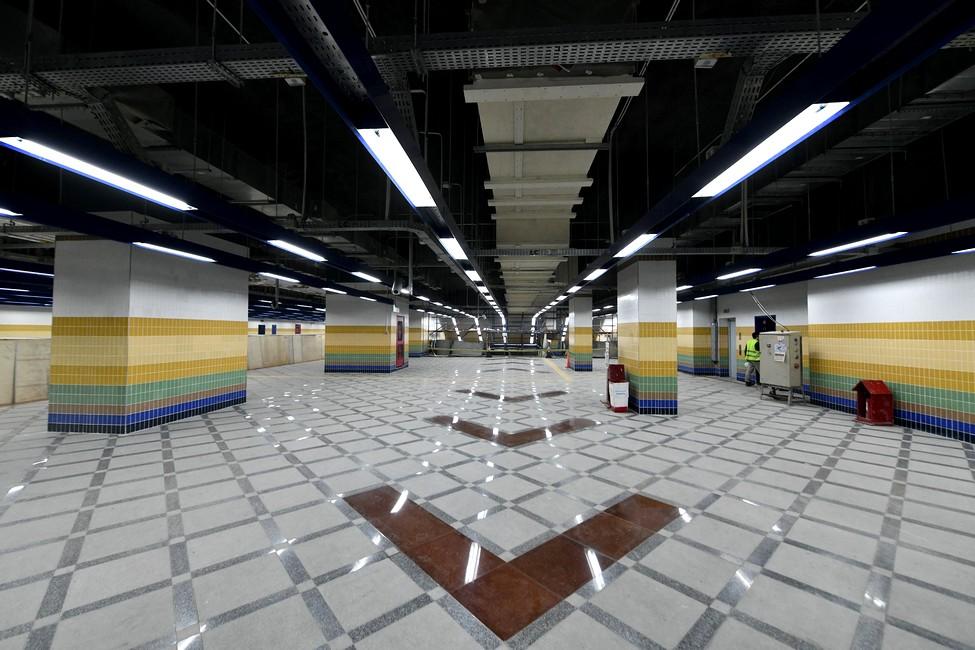 الخط الثالث لمترو انفــــــاق القاهرة الكبرى - المرحله الثالثة