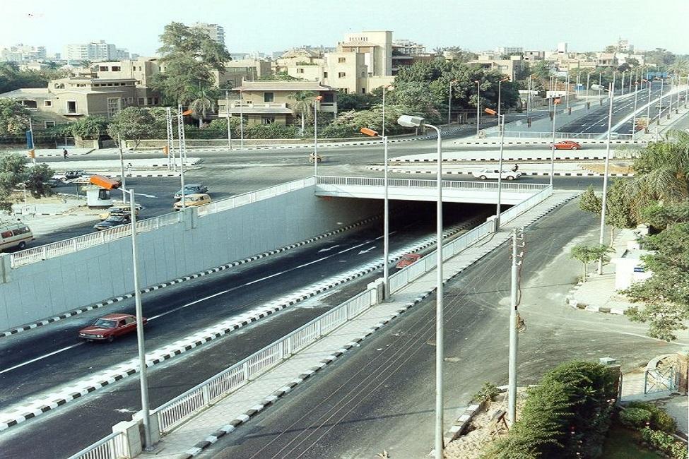 نفق الميرغنى - القاهرة