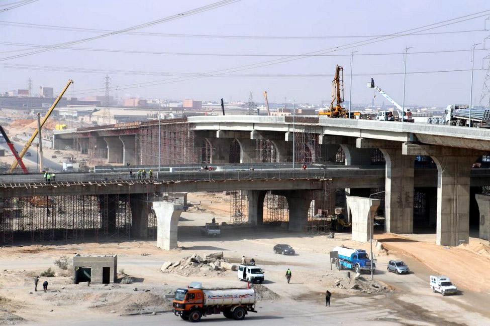 تطوير طريق الواحات بمدينة 6 أكتوبر