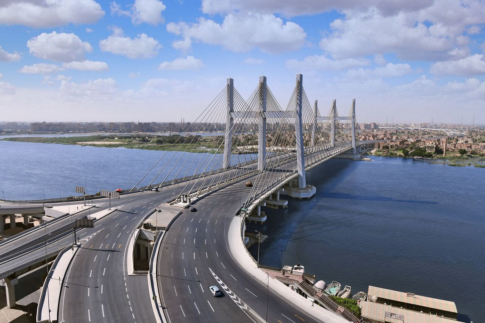 "Rod El-Farag Axis ""Tahya Masr Bridge"""