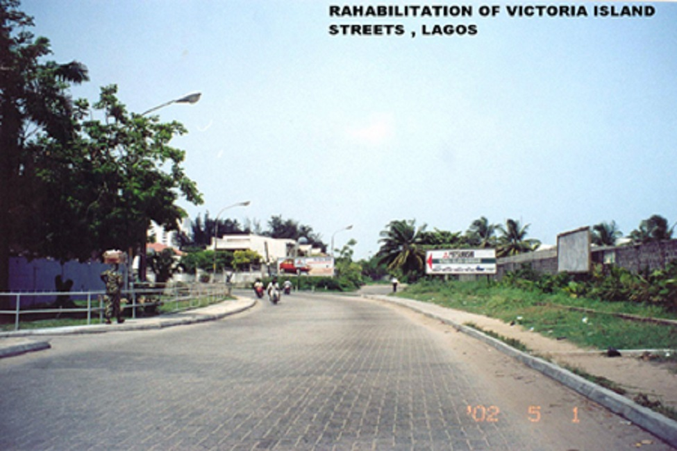 Roads Rehabilitation - Victoria Island