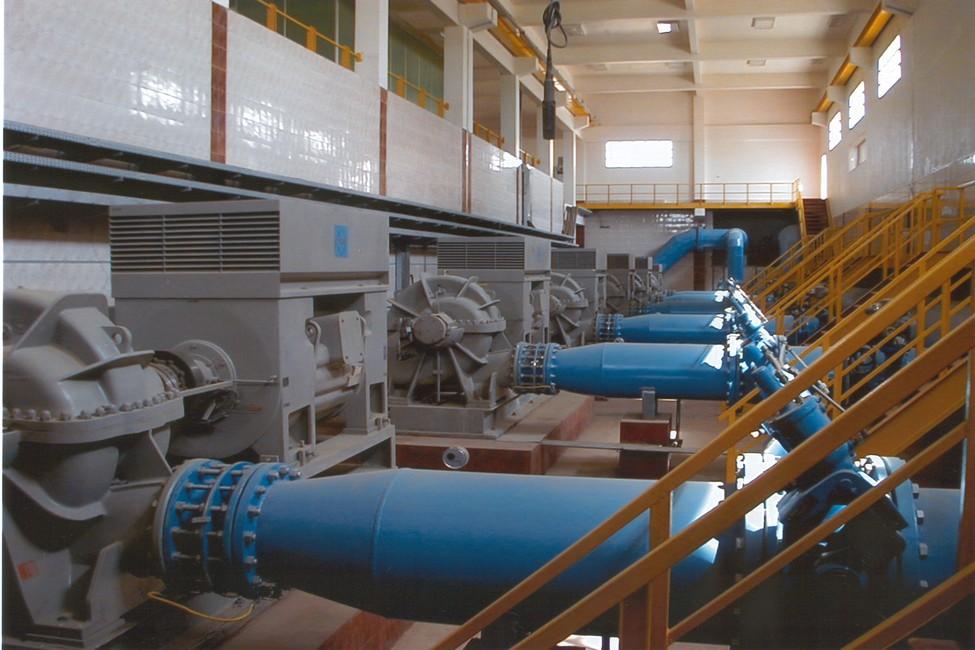 محطة مياه الشيخ زايد