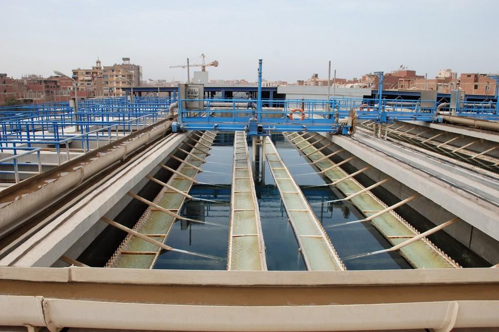 تصميم وتنفيذ محطة مياه الشرب بالمرج