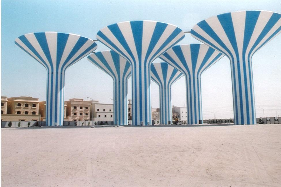 Al Jahraa and Doha Water Tanks Towers